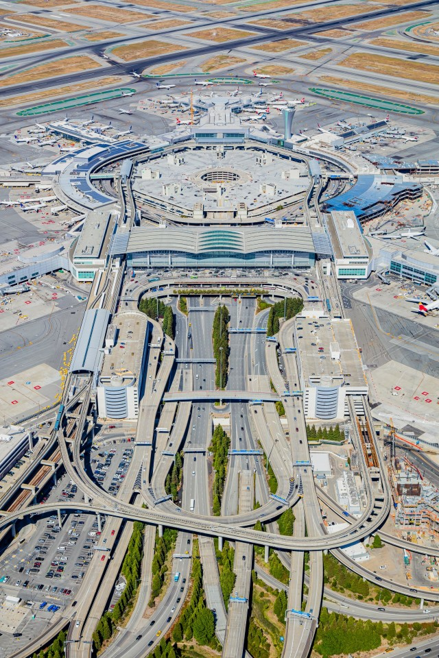 San Francisco International Airport Terminals