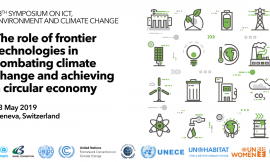 Call for Action on the use of frontier technologies in combating climate change and achieving a circular economy