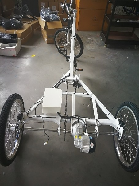 The Delfast etrike project is currently at the prototype stage