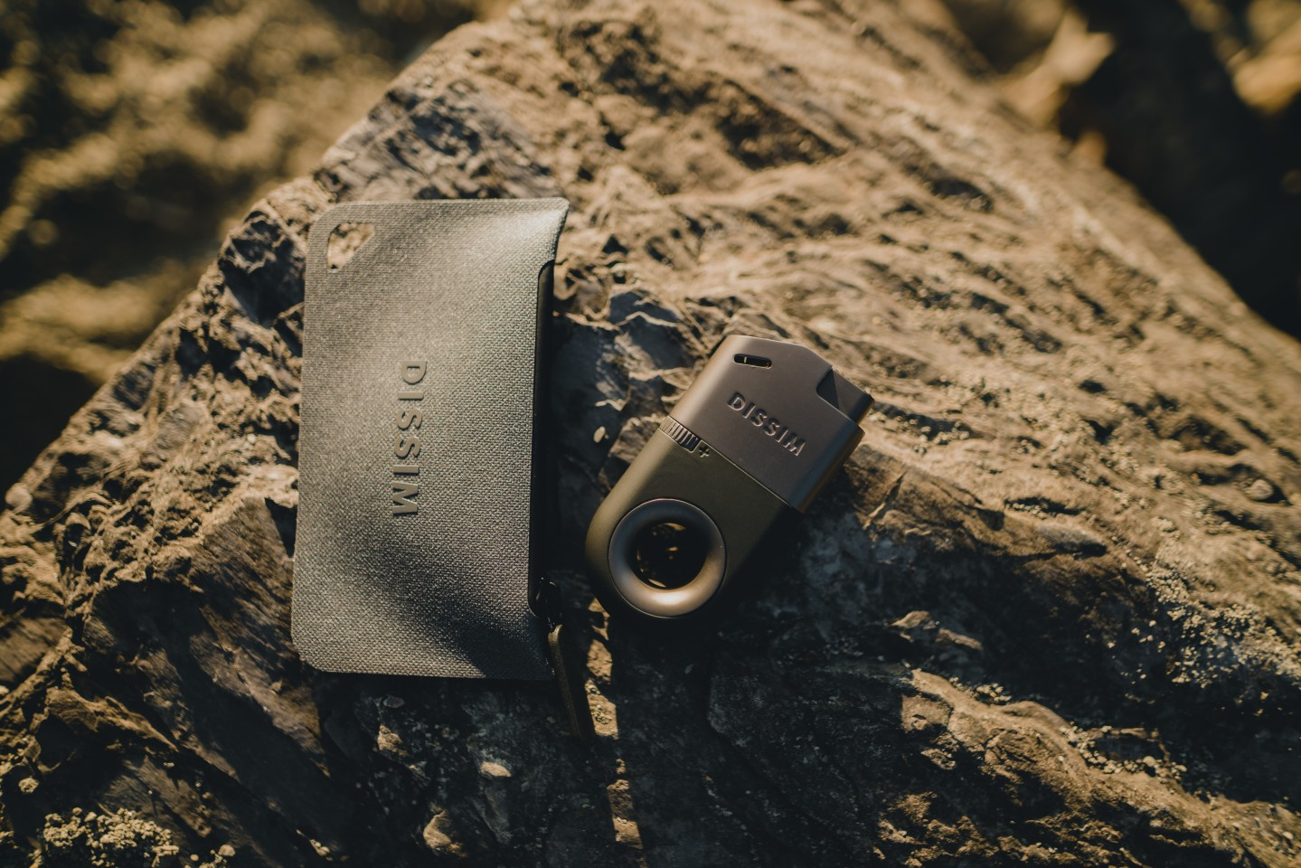 The available water-resistant case protects the lighter