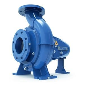 The ANDRITZ single-stage centrifugal pump from the ACP series is particularly versatile thanks to its highly wear-resistant, open impeller design, low axial thrust, and open channels. Depending on the impeller design, the pumps can convey slightly contaminated as well as heavily contaminated media containing some solids. Thus, these pumps are suitable for conveying many different media, allowing them to be installed as process pumps in a wide range of industrial applications from pulp and paper to water supply and wastewater treatment.