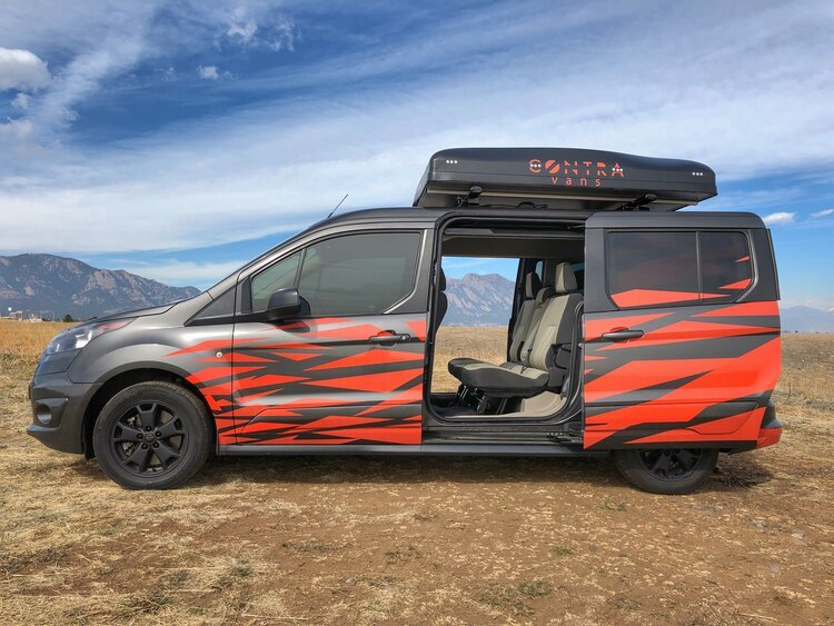 The Contravans Family Camper Van keeps its five seats and adds full cooking and sleeping capabilities