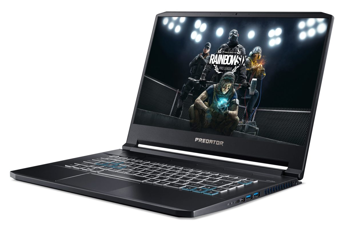 Acer's Predator Triton 500 is a high-end gaming laptop built with the new Intel 10th Gen processors