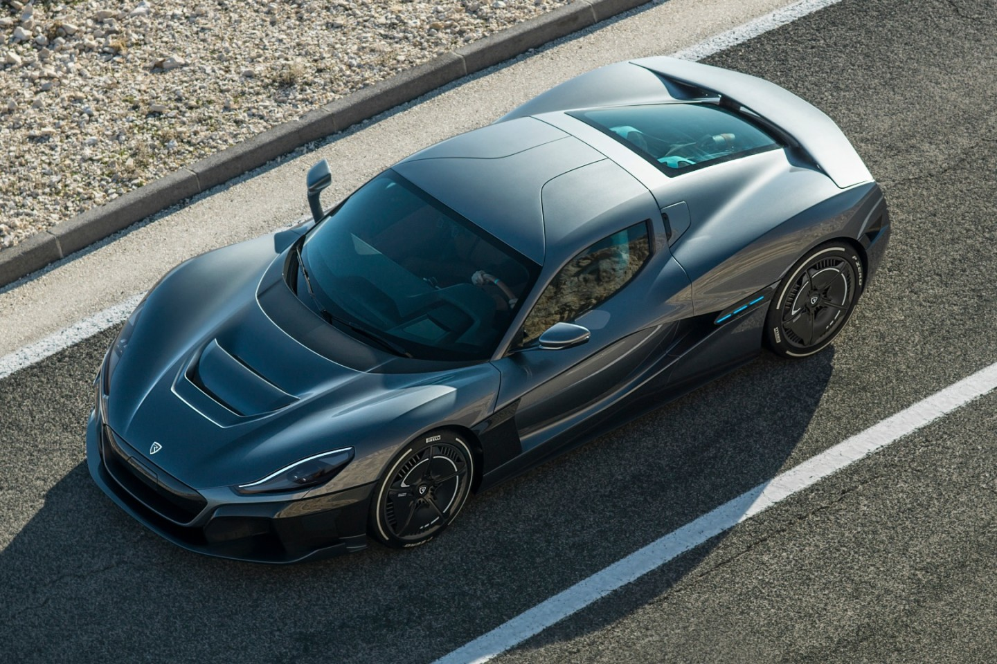 Rimac C_Two:level 4 self driving capability
