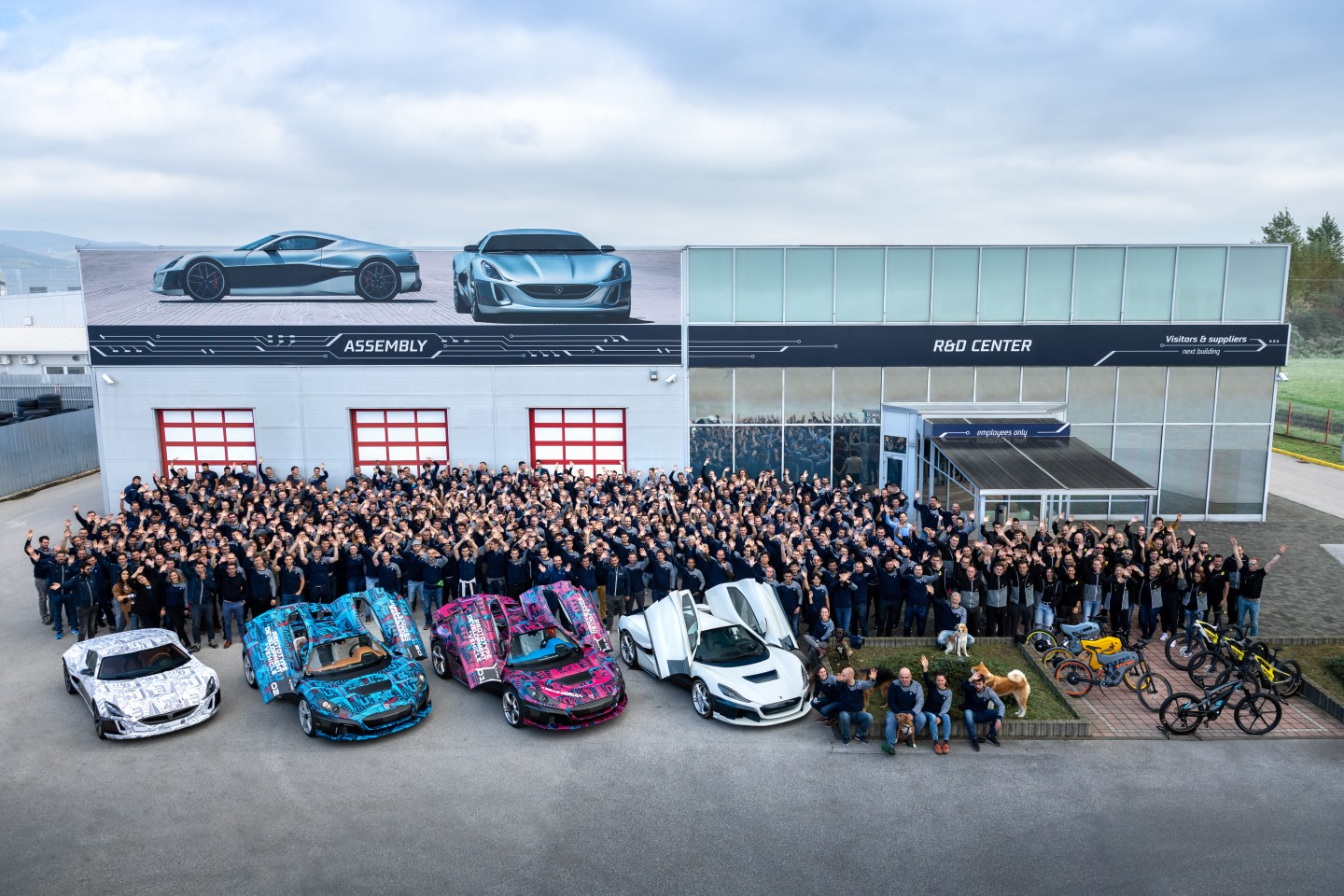In ten years, Rimac has grown to be a 750-strong company
