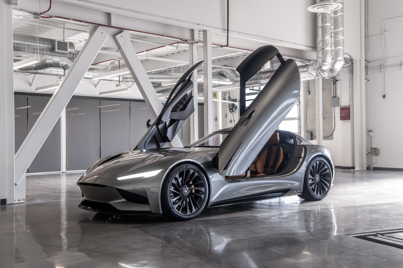 Karma's 1,100-hp SC2 concept debuted at the 2019 LA Auto Show