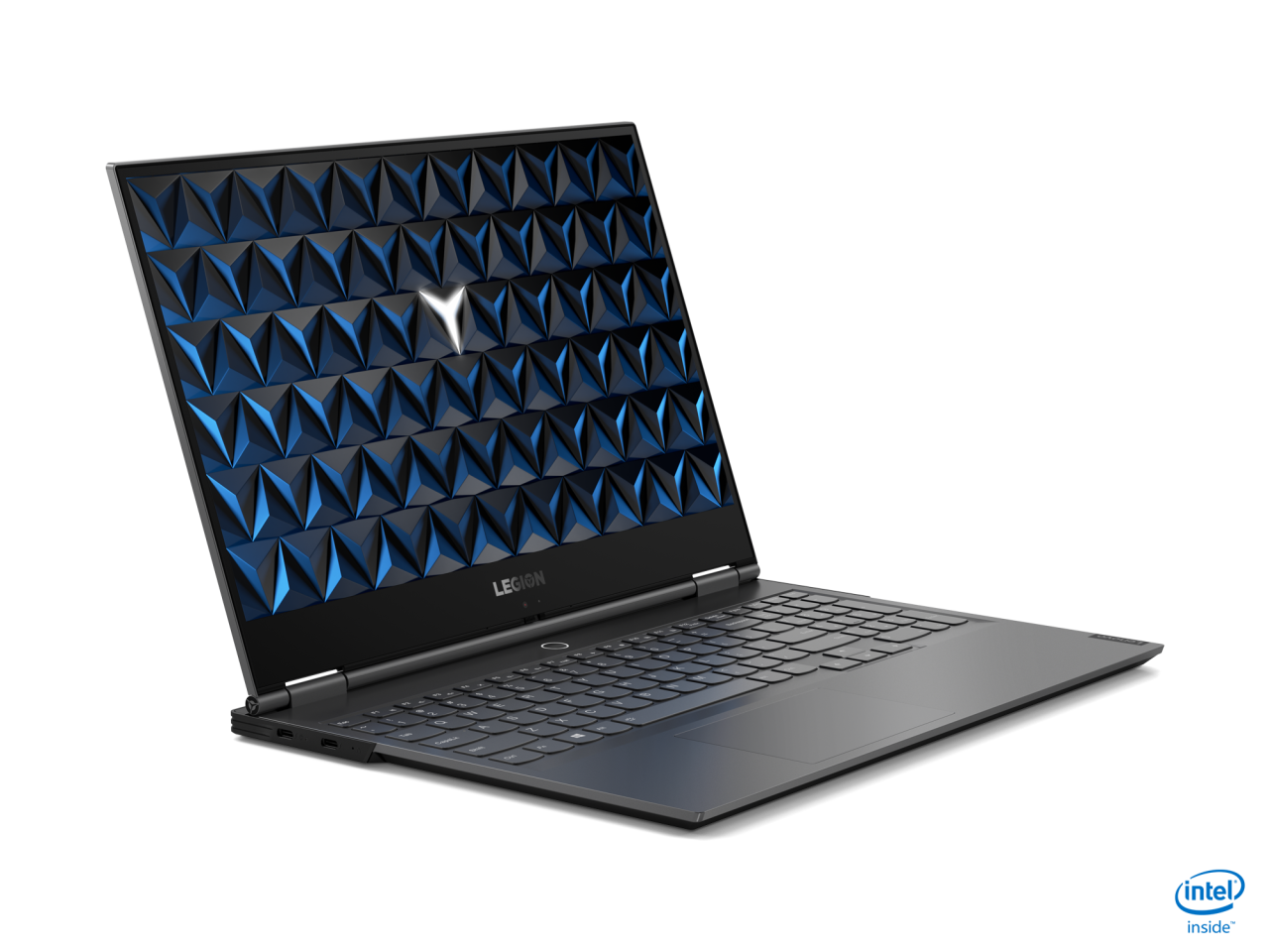 The thinnest and lightest of the new Legion gaming laptops is the Y740Si, measuring 14.9 mm thin and weighing 1.7 kg