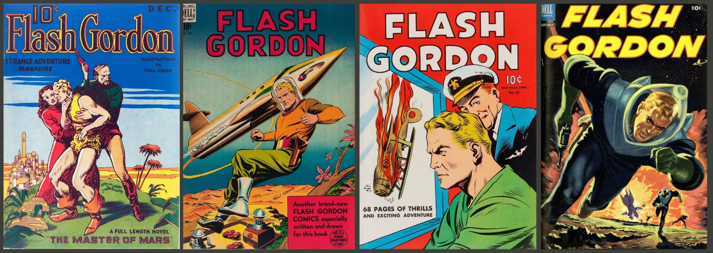 Flash Gordon novels and comics began in 1936 and they have been going ever since. Most of these printed artefacts appear at Heritage Auctions on a regular basis