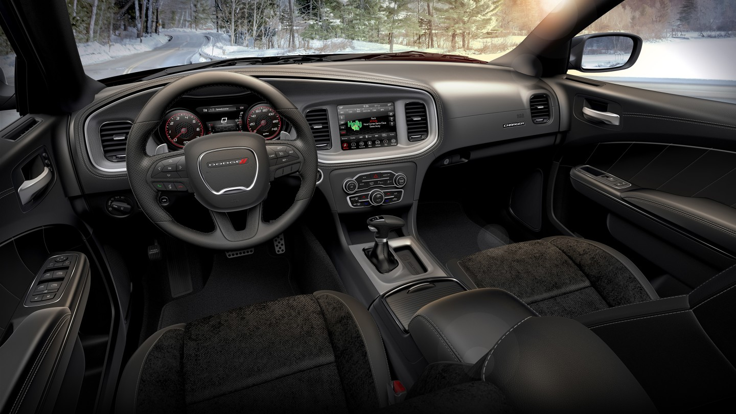Inside, the 2020 Charger GT offers a plush interior that keeps its blue collar roots while offering a lot of comfort and technology