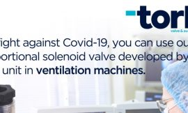 SMS-TORK Company Supports the Covid-19 Struggle With Its R&D