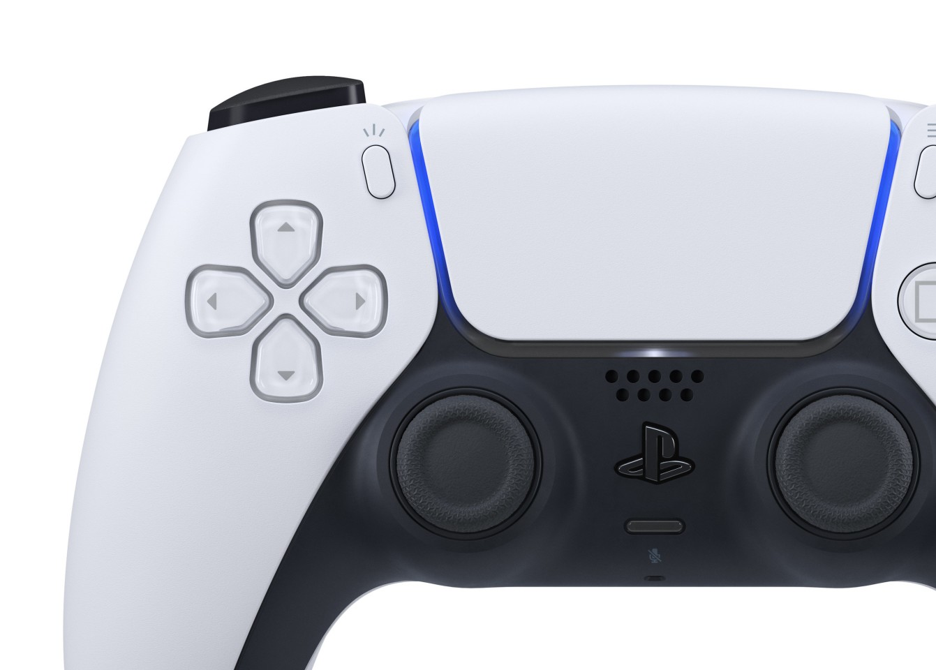 On the PlayStation 5 DualSense controller, the Share button is now called Create, and the PS button is now in the shape of the PlayStation logo