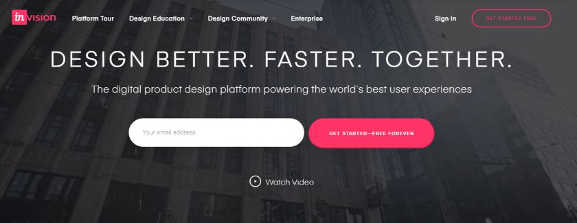 invision-studio-website