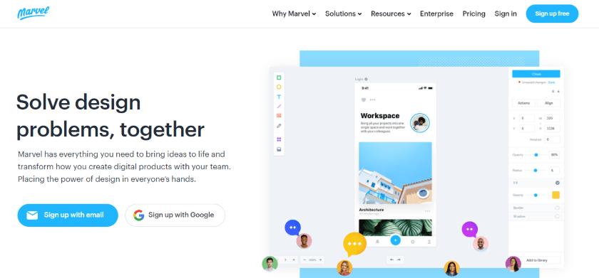 marvel-web-design-tools