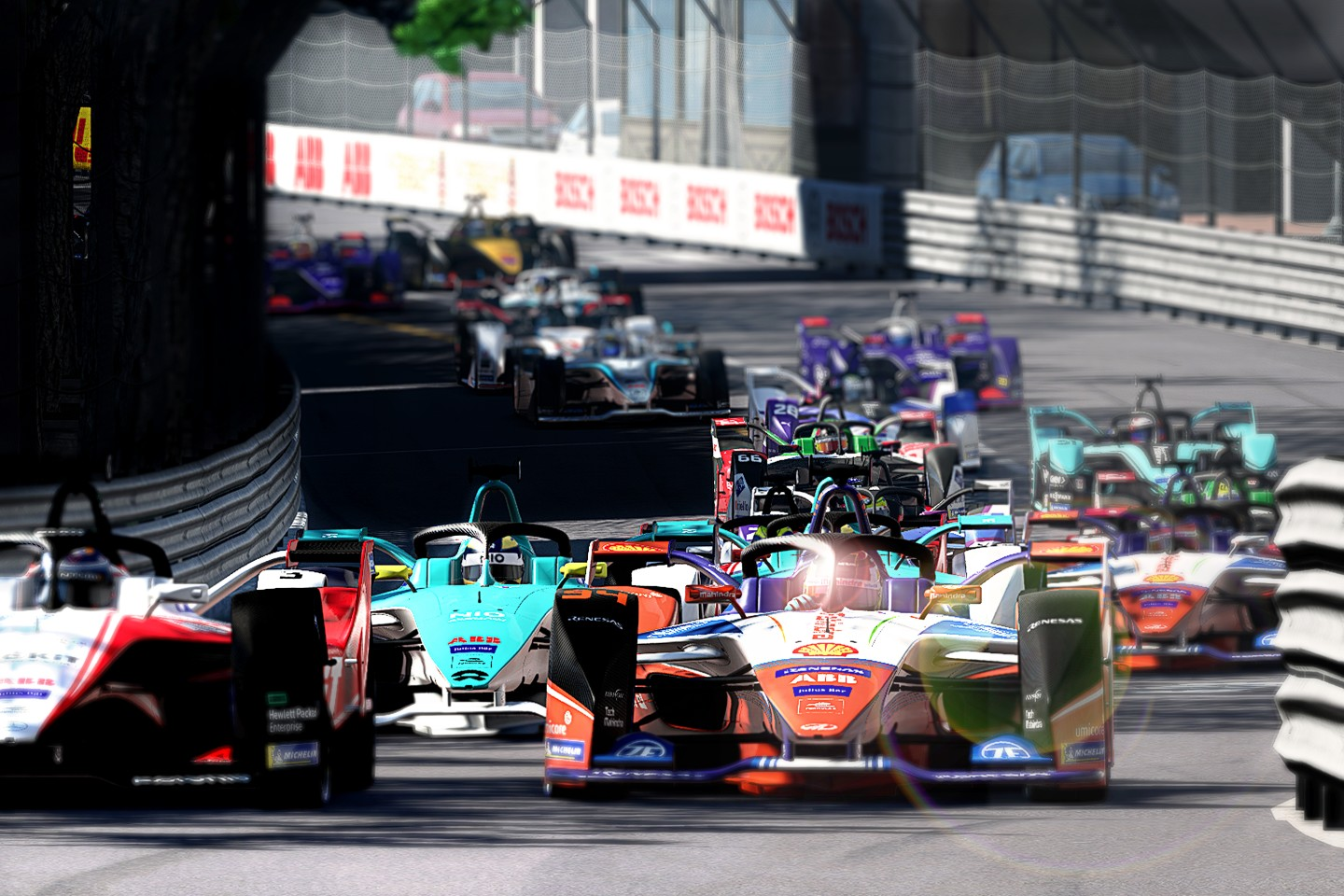 Formula E is joining forces with UNICEF. The 'Formula E Race at Home Challenge' will raise funds for the global fight against the coronavirus. This Saturday, April 18, 2020 gets things going with a test round, which will give the drivers and organizer time to adjust to the new format. The Monaco track will be used for Saturday's test