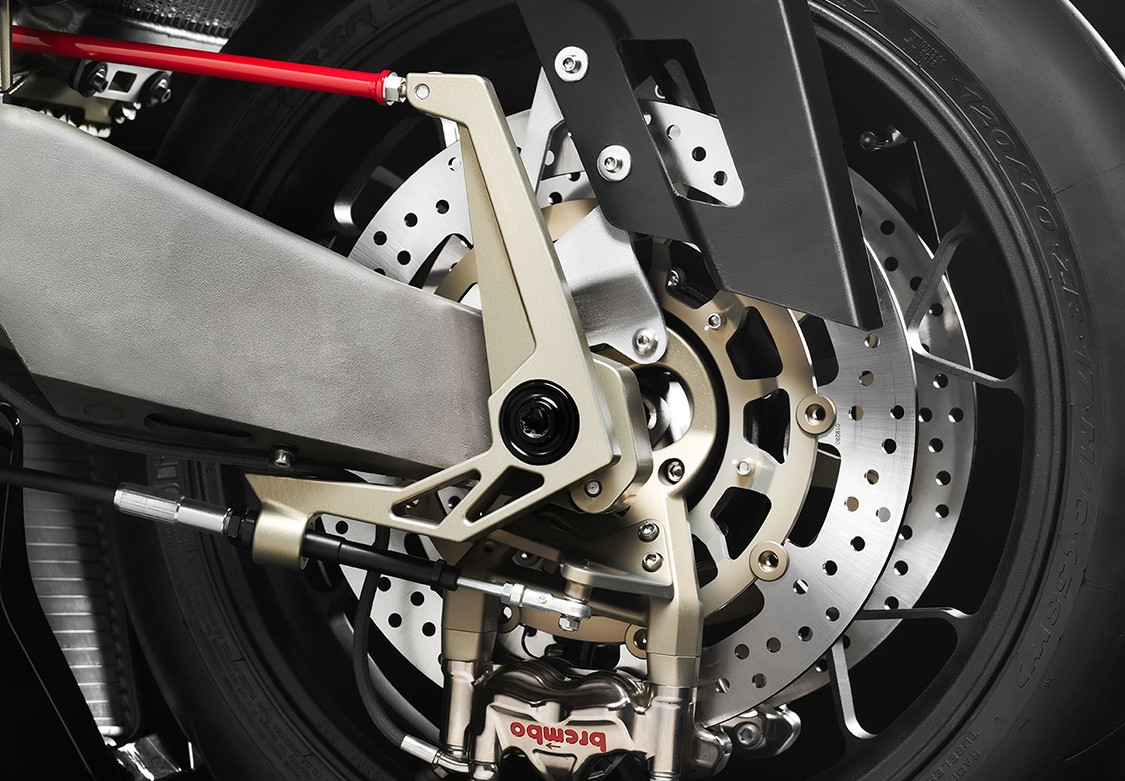 The steering system pivots the front wheel and brake systems