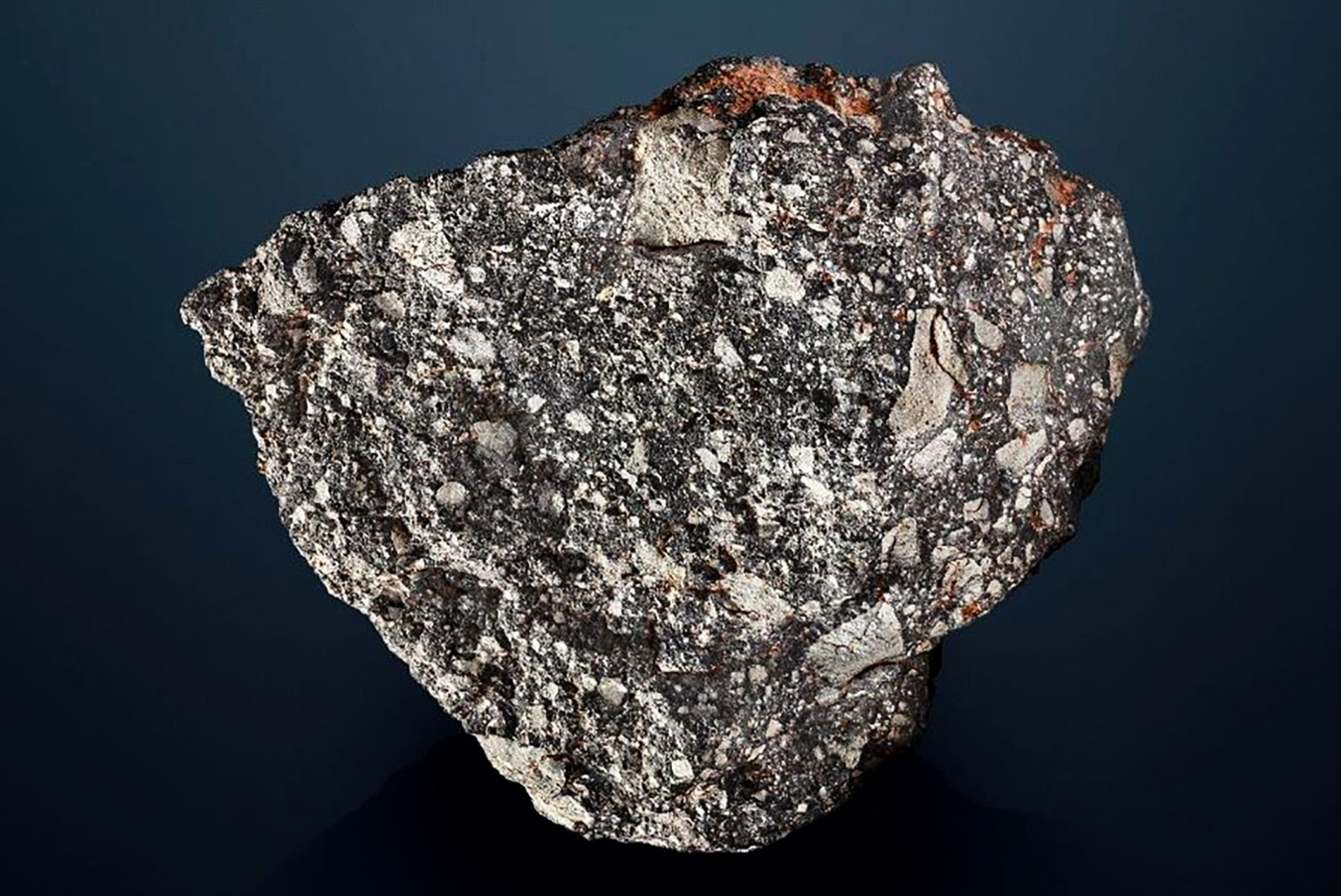 This 13.5 kg lunar meteorite came to rest in the Kalahari Desert around 4.5 billion years ago. It's available via Christie's Private Sales for around GBP£2 million (US$2.5 million).