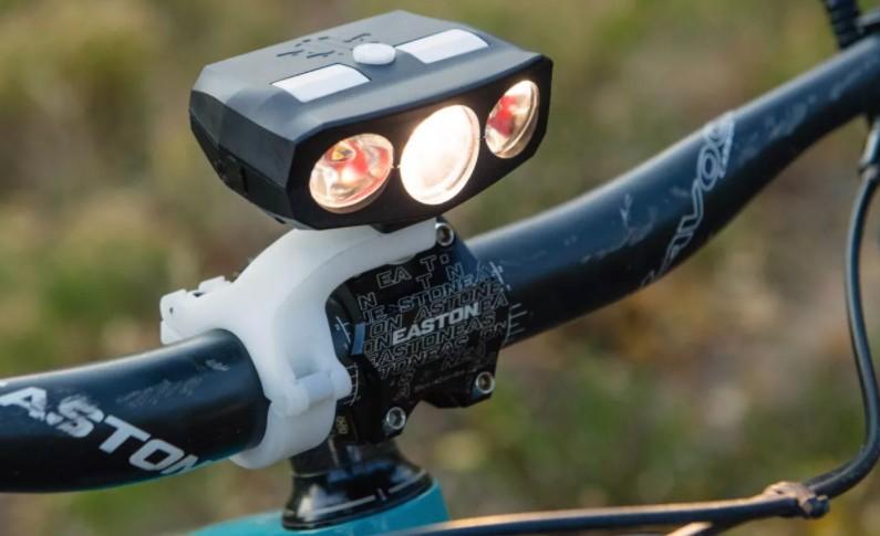 The Hydra 3 Bike Light