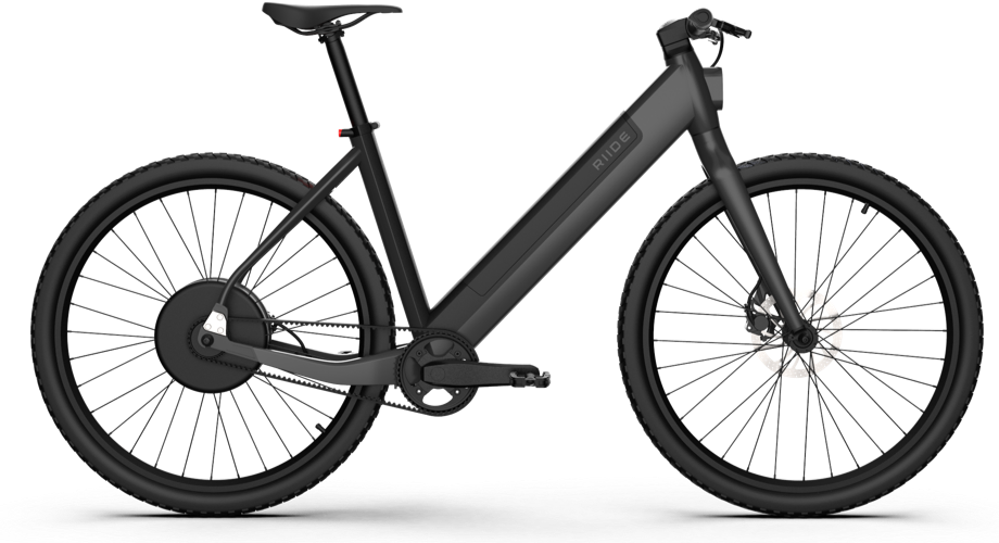 The Riide 2 has a top speed of 28 mph, up to 80 miles of per charge range, included GPS tracking and 4G-LTE, and concrete and asphalt are your color choices