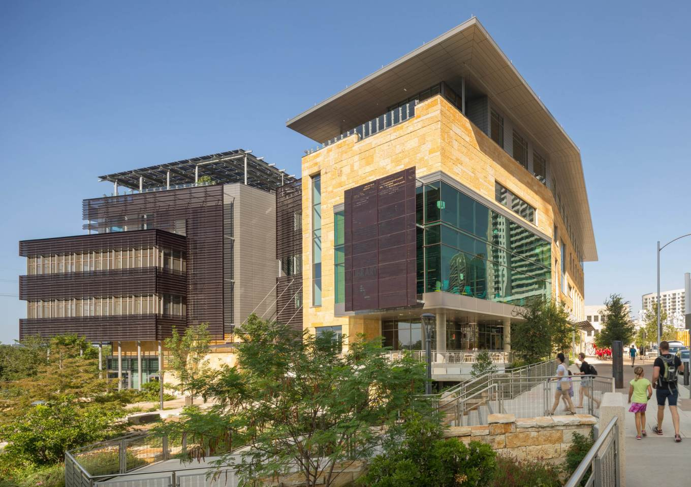 Austin Central Library is located in Texas and was designed by Lake|Flato Architects, in collaboration with Shepley Bulfinch