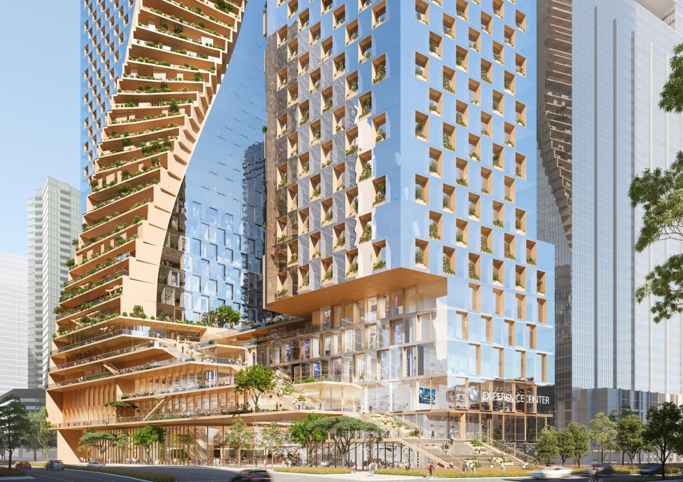 Southbank by Beulah will be located on a waterfront site in Melbourne that's currently occupied by a BMW dealership