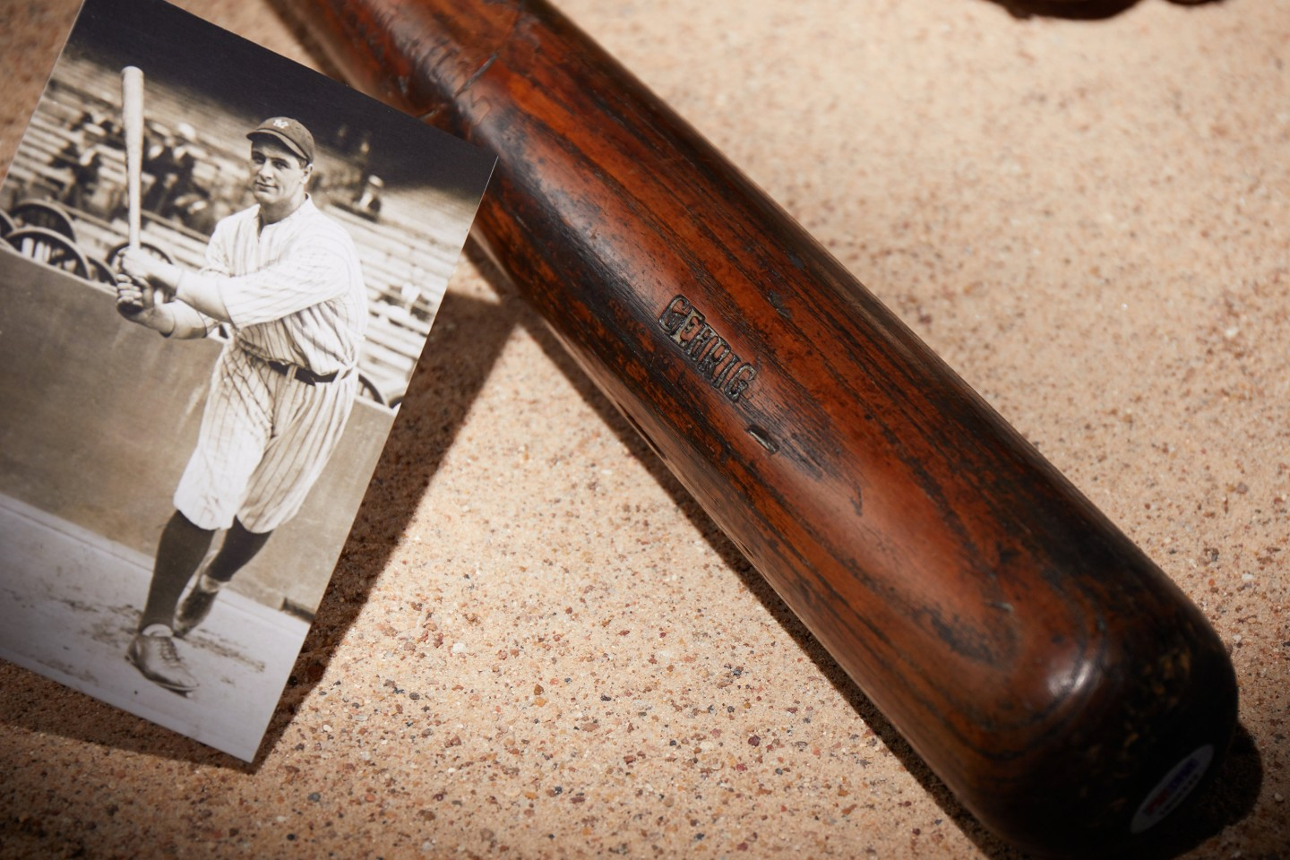 Lou Gehrig 1922 Baseball Bat | Auction House: Heritage Auctions | Price fetched: $1,025,000 | Auctioned: February 23, 2020