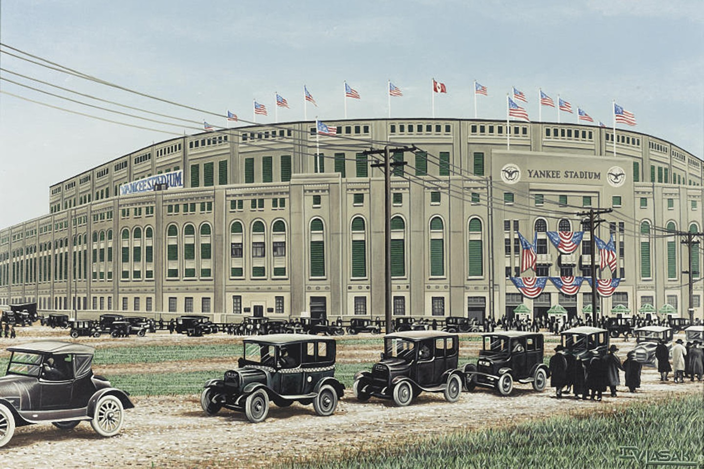 "Opening day for ""The House That Ruth Built"" was April 18, 1923."