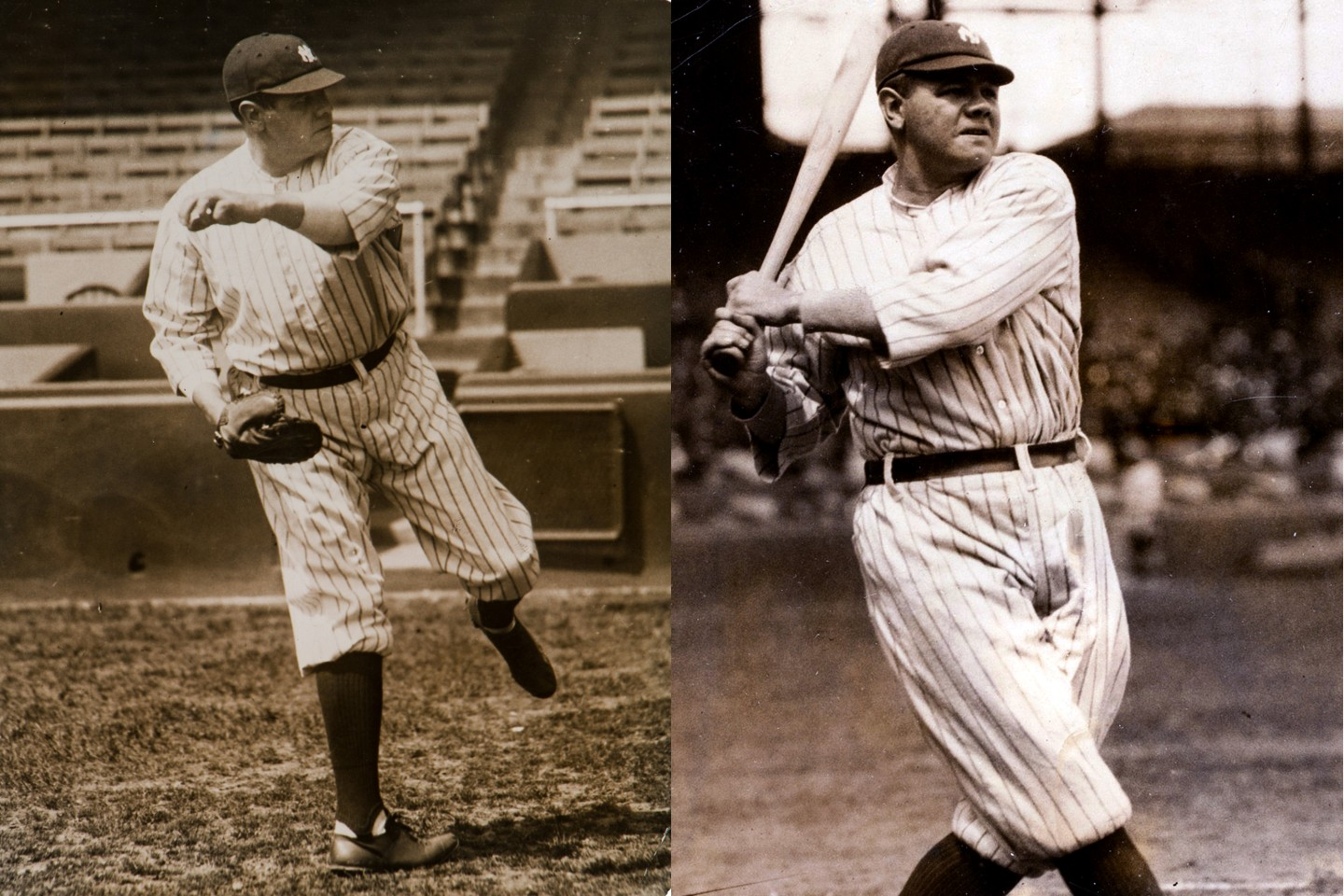 Babe Ruth began his professional career as a pitcher, transforming into a batting phenomenon whose name is still revered a century later. Not only does Babe Ruth dominate Baseball Memorabilia prices at auction, he also dominates global sports memorabilia at auction with more than 20 percent of the top 100 most valuable items ever sold.
