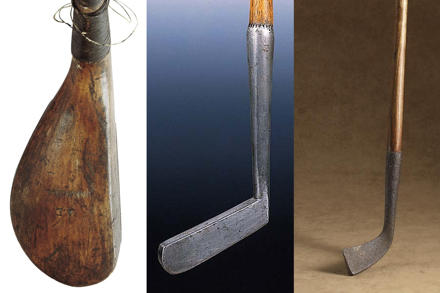 The three most expensive golf clubs sold to this point in time are an 18th century long-nosed putter attributed to Andrew Dickson, 18th century sold by Sotheby's on September 27, 2007 for $181,000, a late 18th/early 19th Century metal-headed blade-putter with fruitwood shaft sold by Christie's on July 7, 1998 for £106,000 (US$173,617), and 17th century square toe light iron sold by Sotheby's on September 27, 2007 for $151,000.