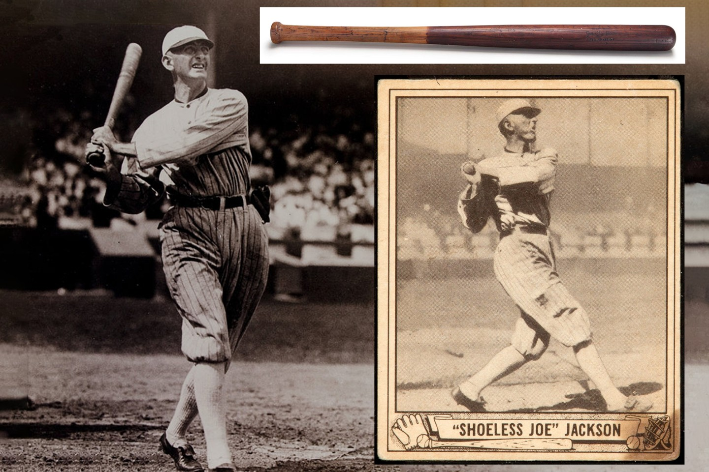 """Shoeless"" Joe Jackson Bat 