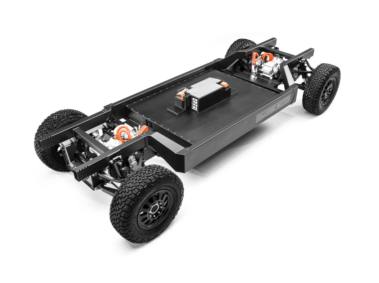 Bollinger Motors revealed its Class 3 E-Chassis in March