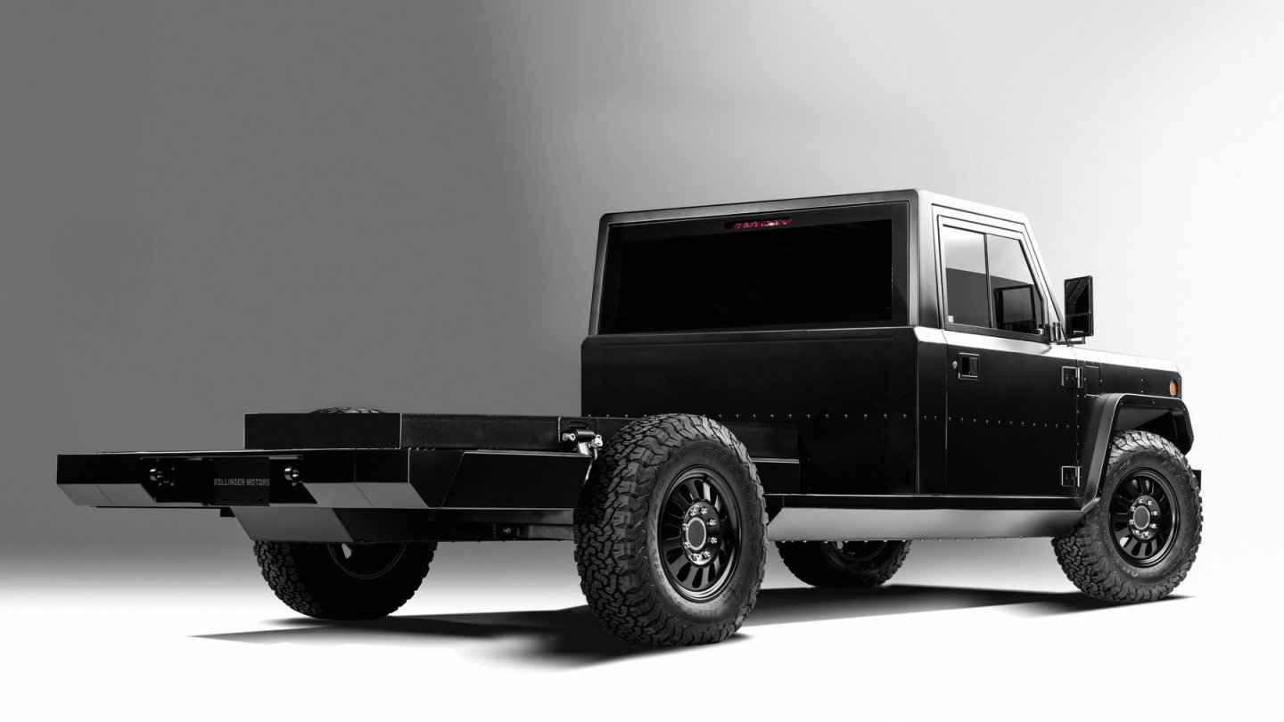 Bollinger B2CC with full cab
