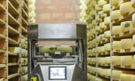 Cheese Production: Where Art and Automation Meet