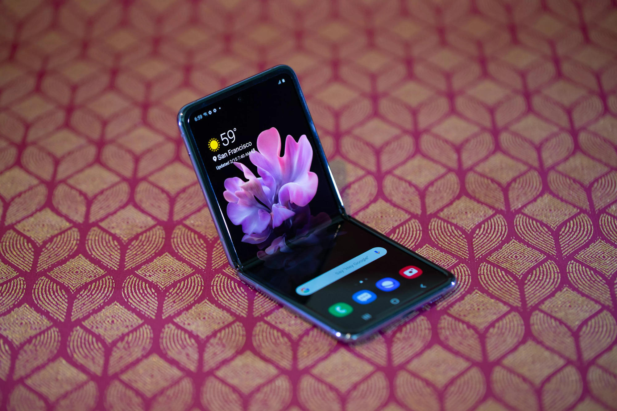 Enter to win a Samsung Galaxy Z Flip*
