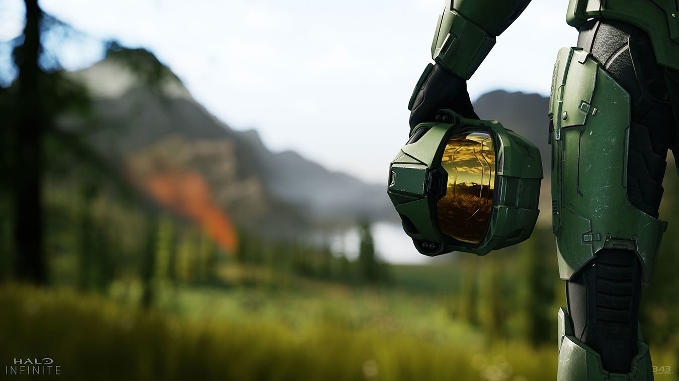 Halo Infinite will be a launch title for the Xbox Series X (and also available on PC and Xbox One)
