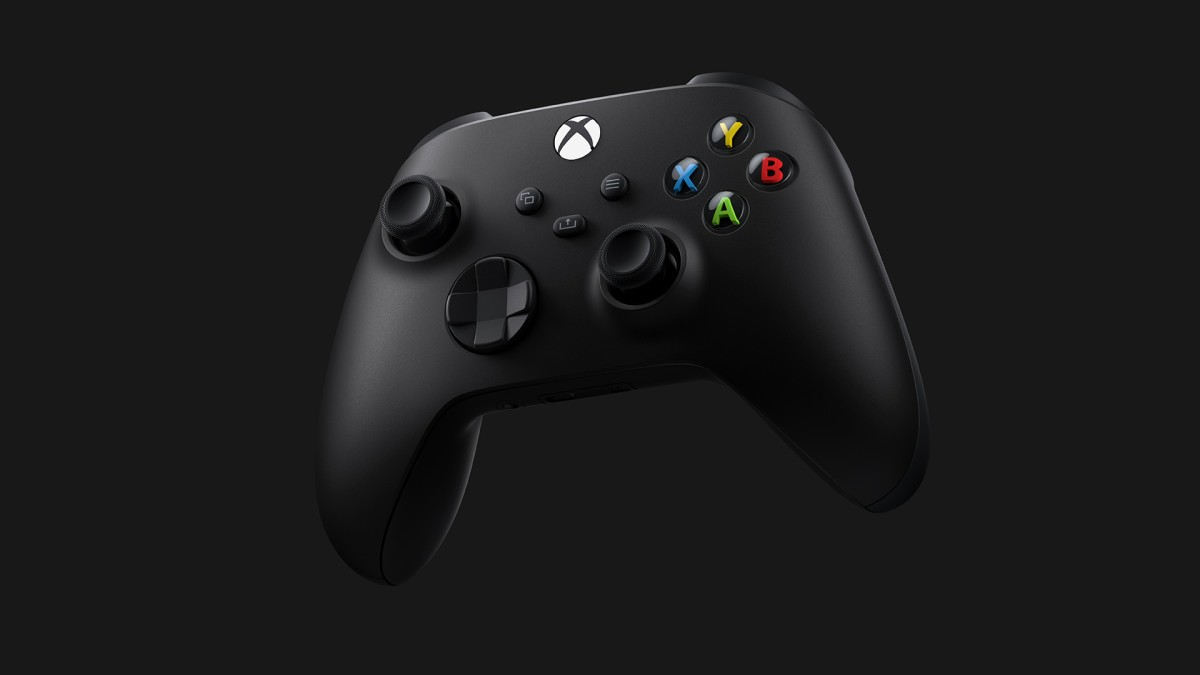 The Xbox Series X controller