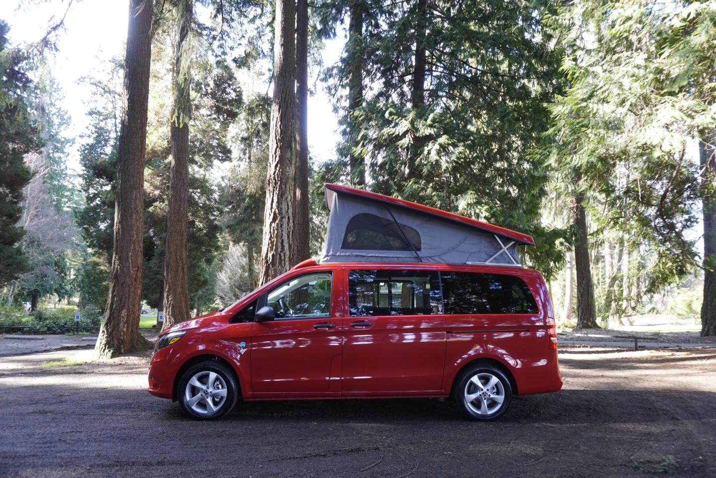 Caravan Outfitter Backroad Mercedes Metris camper van