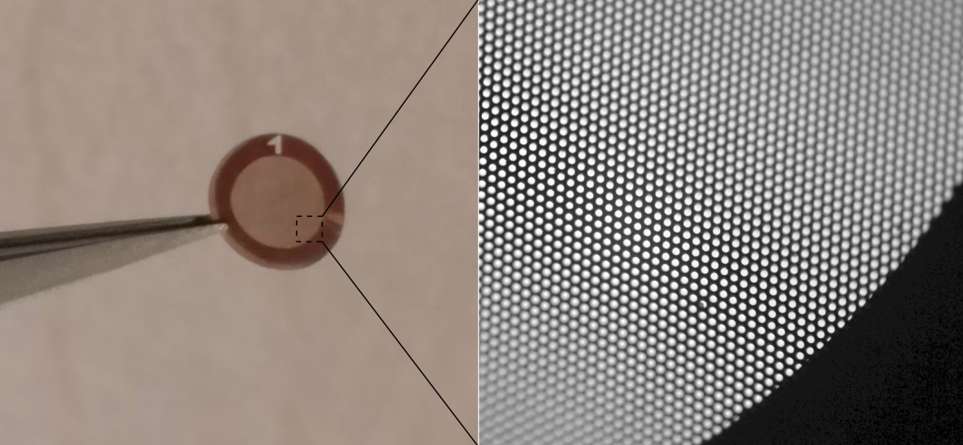 The 3-mm-wide graphene light sail