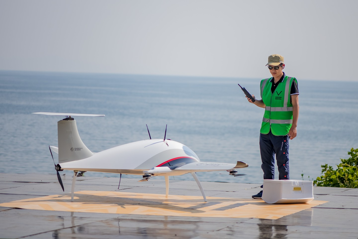 The Manta Ray was the largest drone in the contest