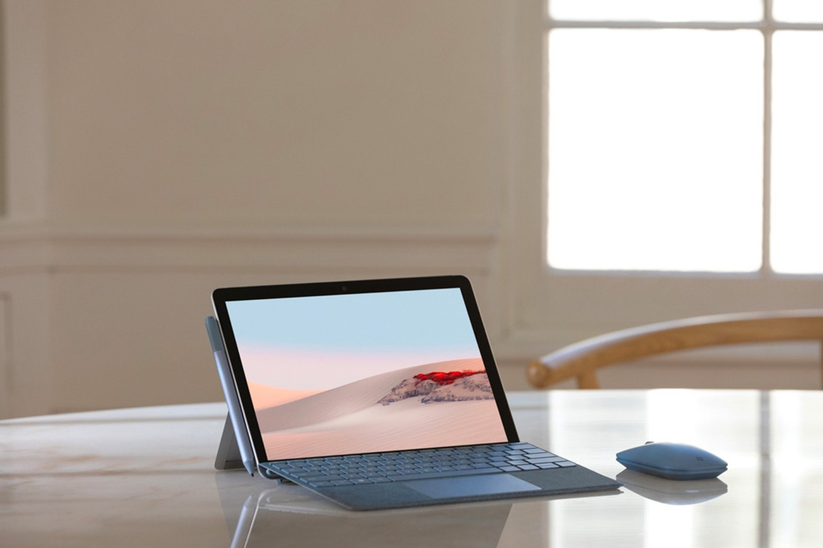 The Surface Go display grows from 10 inches to 10.5 inches