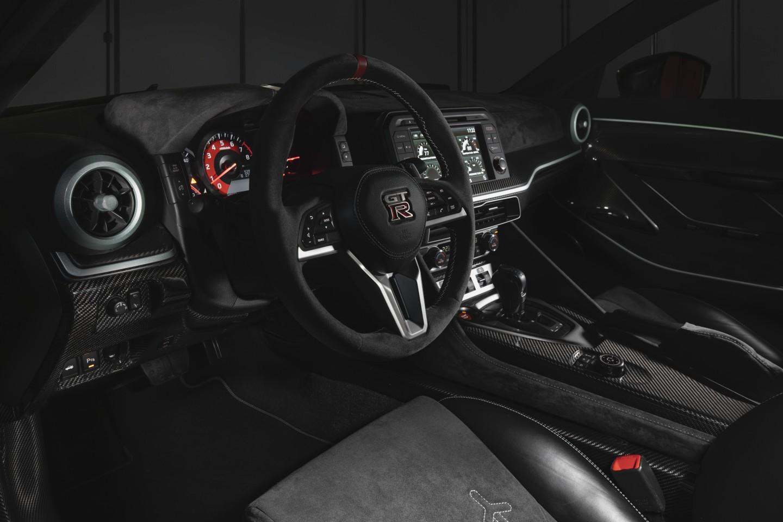 A look inside the Nissan GT-R 50