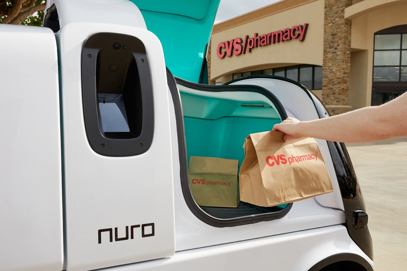 Startup Nuro has entered an agreement with CVS to deliver prescriptions using autonomous vehicles
