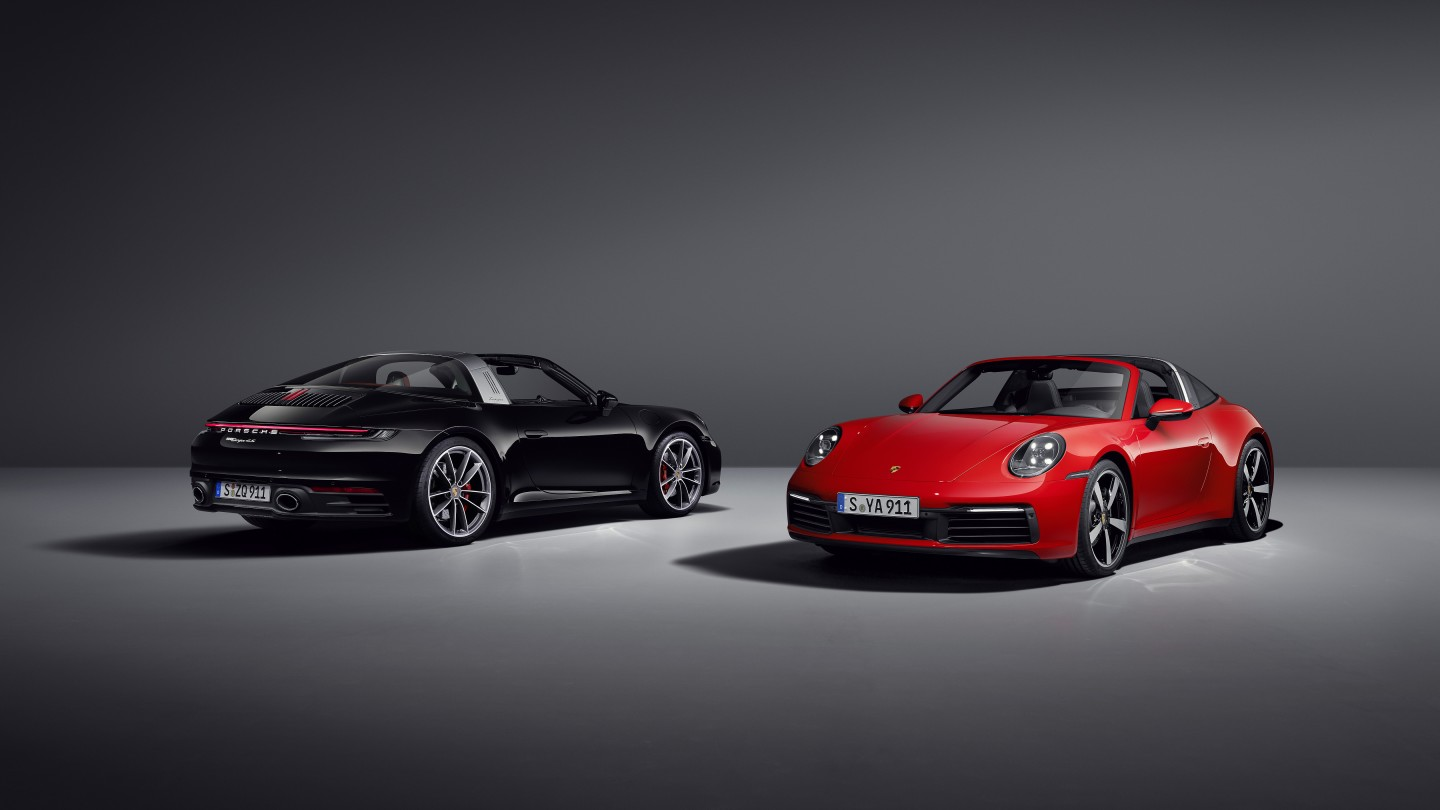 The 911 Targa comes in 4 and 4S models, with little to distinguish them visually but quite a performance gap