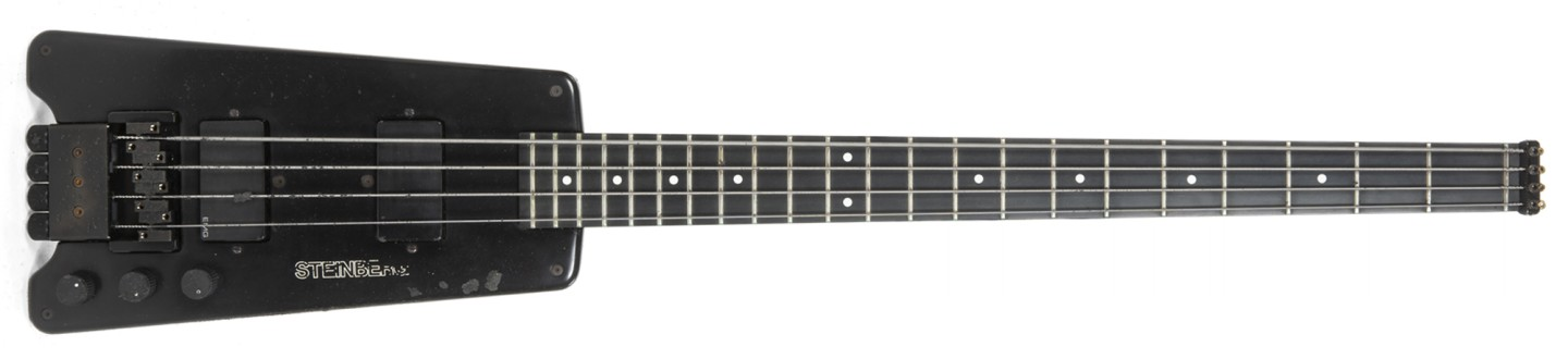 Bill Wyman's 1981 Steinberger Custom Short-Scale XL-Series Bass