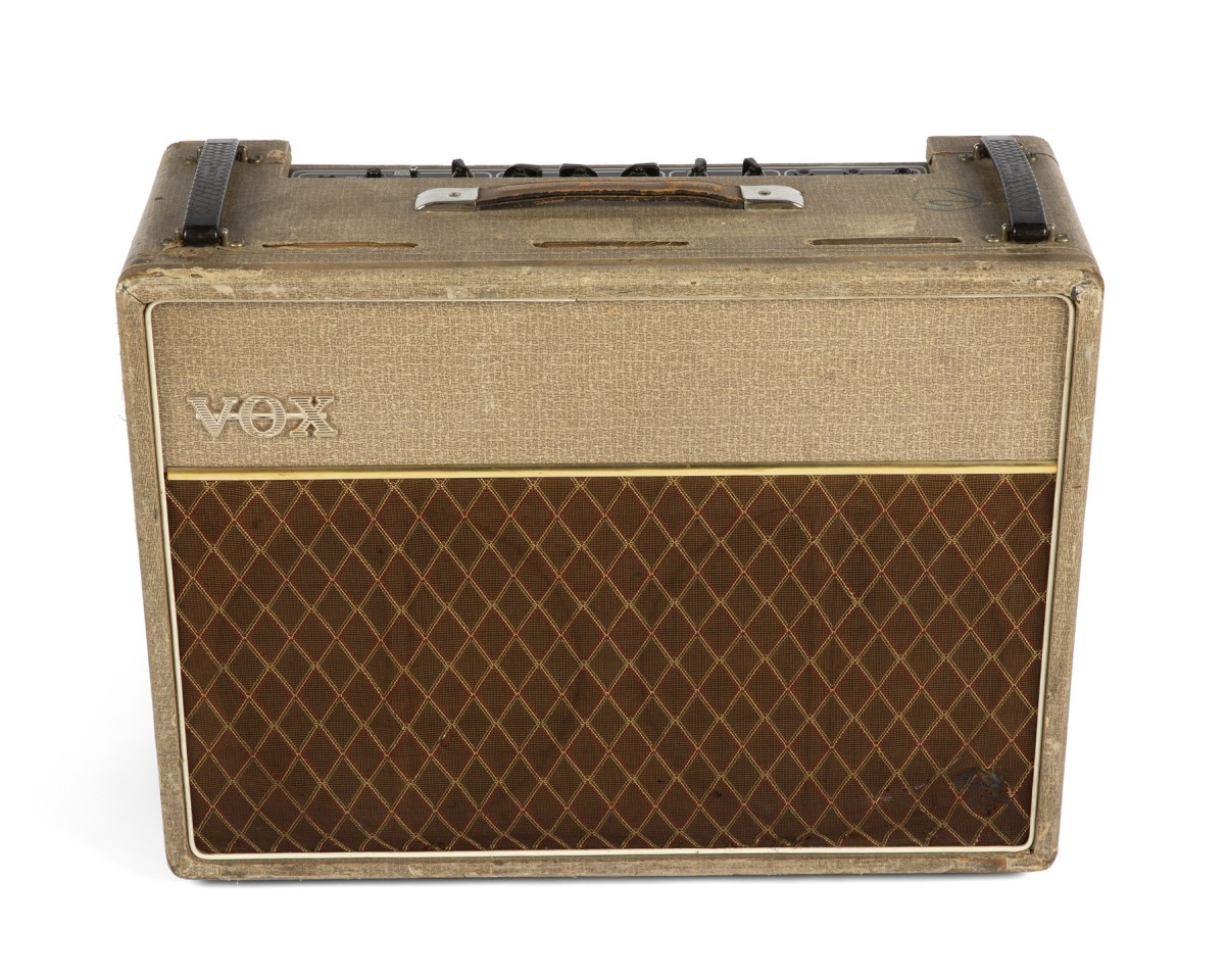 1962 VOX AC30 'Normal' model amplifier, serial number 5048N