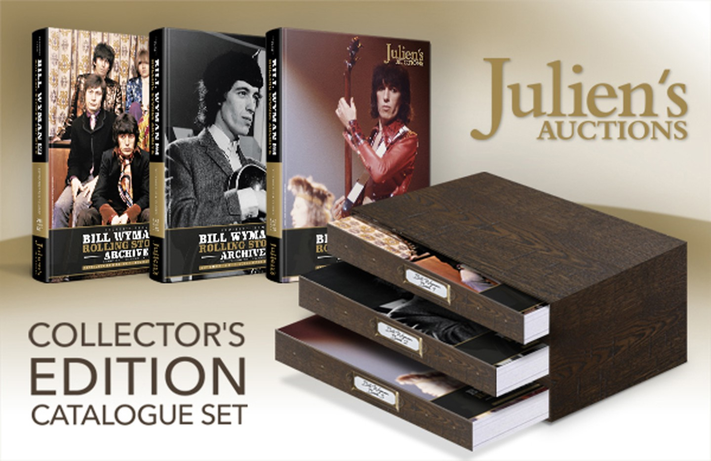 Bill Wyman's collection is massive and extremely well catalogued - that's a three-volume auction catalogue - and it is likely that there will be untold treasure available at the auction