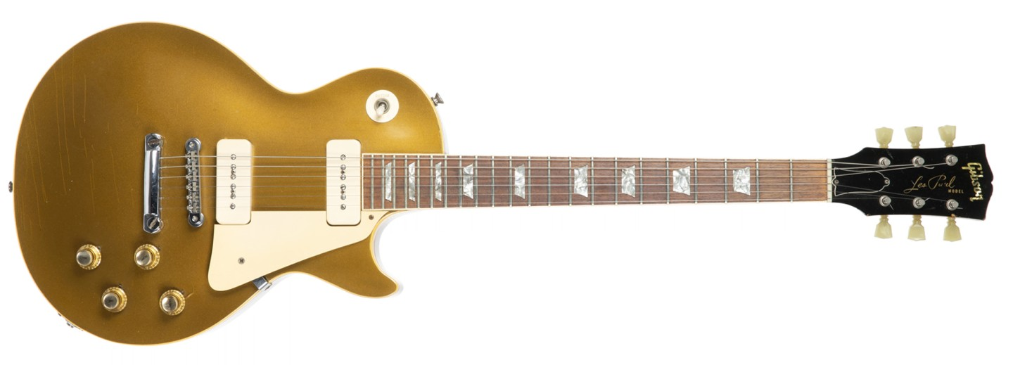 Brian Jones 1968 Gibson Les Paul Standard Model Gold Top