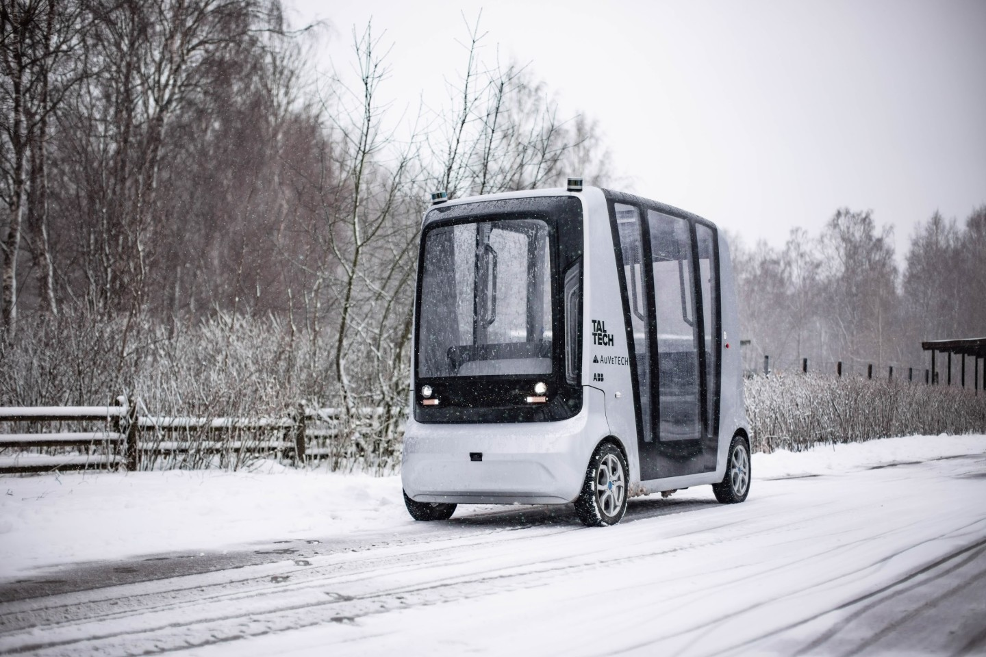 The three autonomous vehicle prototypes being used in the FABULOS pilots need to operate in all weather conditions