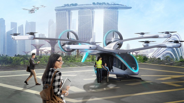 EmbraerX eVTOL air taxi concept