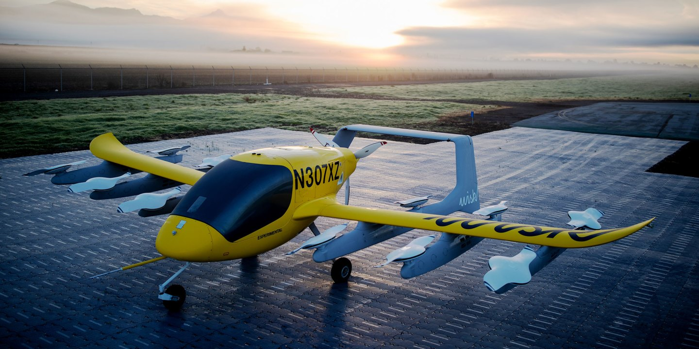 If all goes to plan, this could be the world's first commercial eVTOL air taxi service