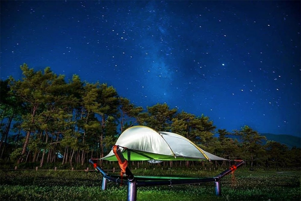 Many a plane ticket is a cheaper way of getting into the air than a Tentsile tent and stand combo, but the Tentsile duo will be there to get you up in the air any time you need an escape